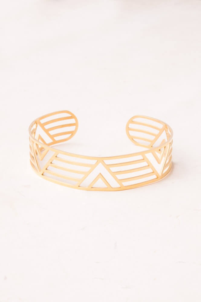 Summer Gold Geometric Bracelet