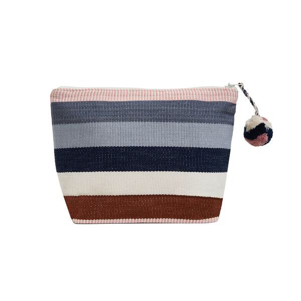 Stripe Cosmetic Case