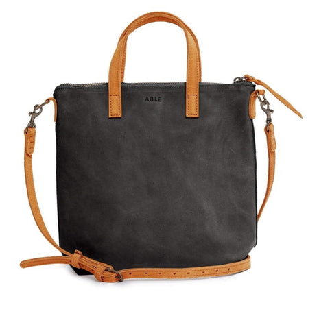 Abera Commuter: Black/Cognac