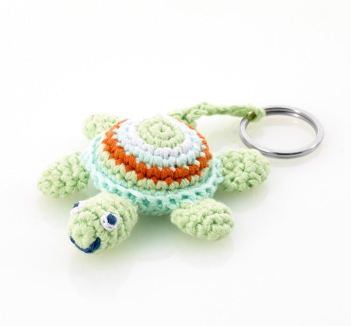 Green Sea Turtle Keyring
