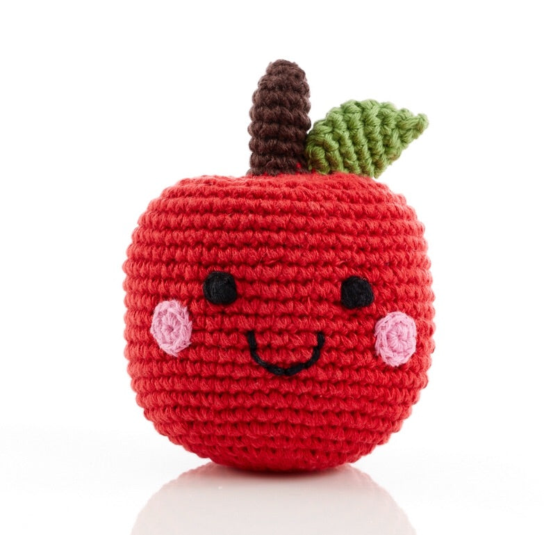 Friendly Apple Rattle