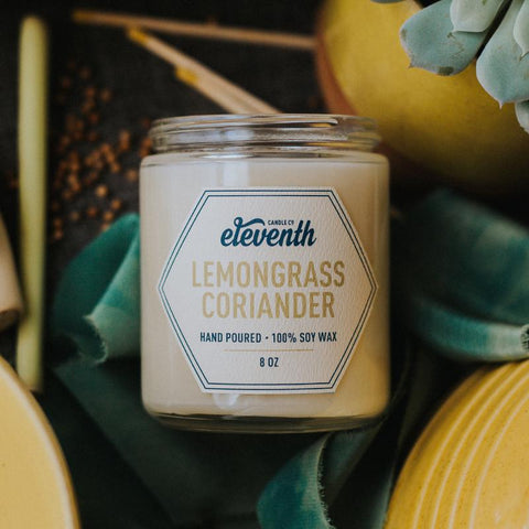 Lemongrass Coriander Candle