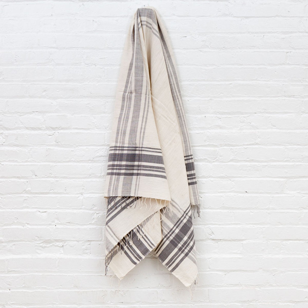Cabin Hatch Bath Towel- Grey