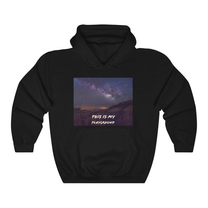 Unisex Heavy Blend™ Hooded Sweatshirt - My Playground - Hyperion Astronomy