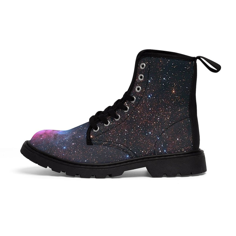 Women's Canvas Boots - Trifid - Hyperion Astronomy