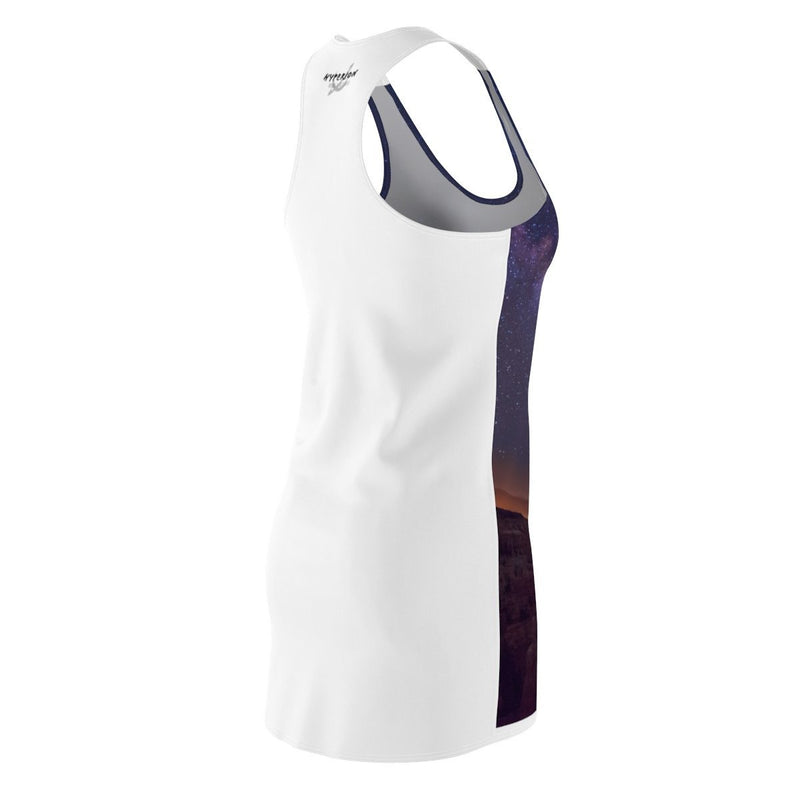 Women's Cut & Sew Racerback Dress - My Playground - Hyperion Astronomy