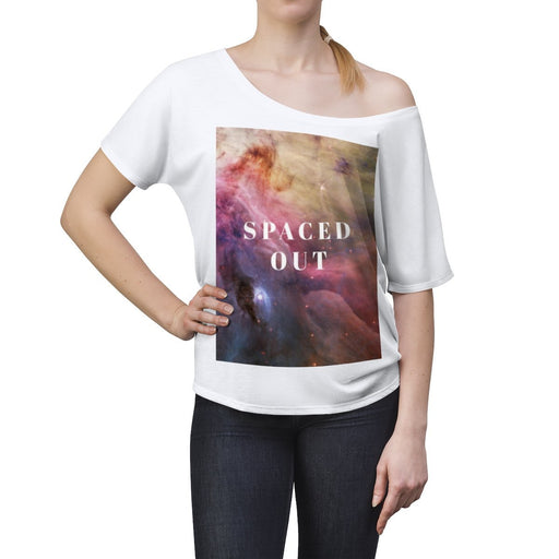 Women's Slouchy top - Spaced Out - Hyperion Astronomy