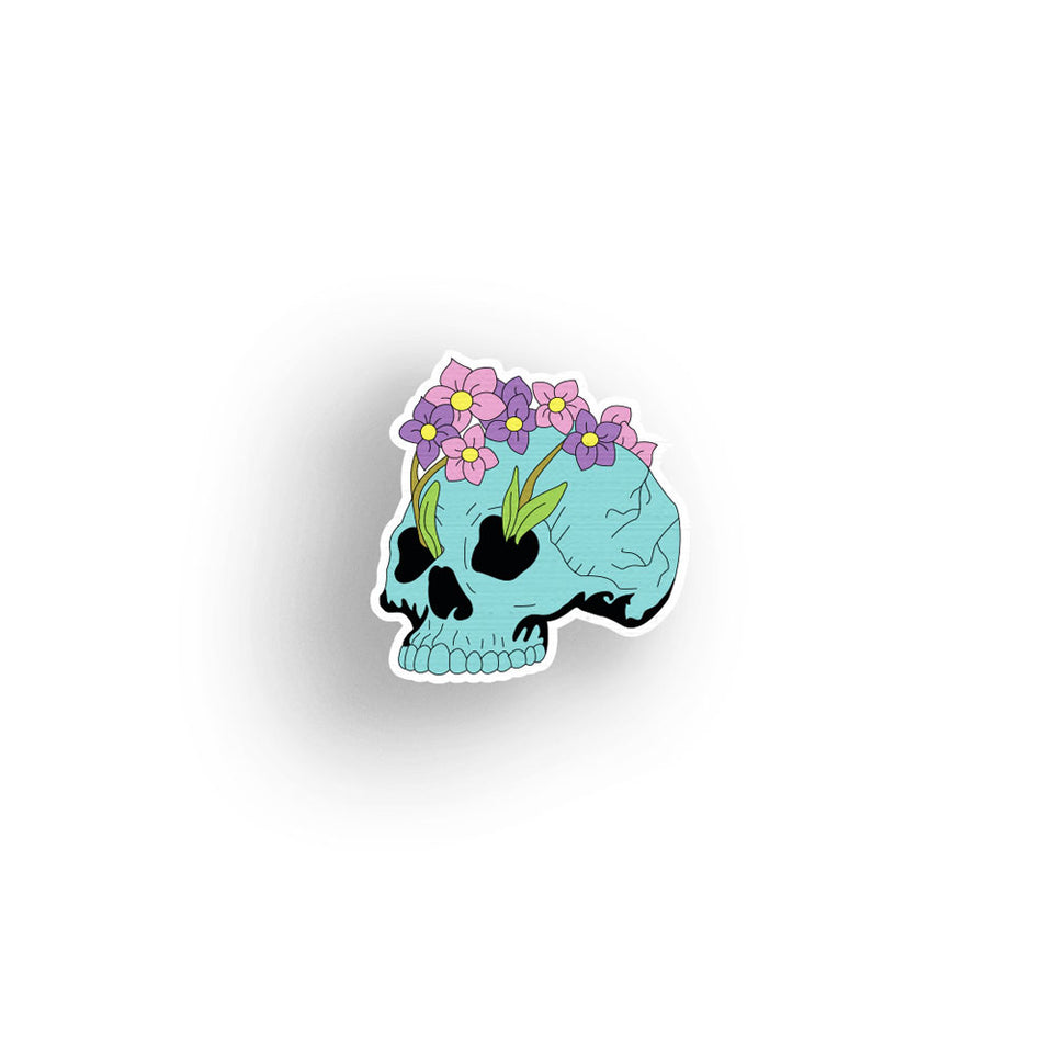 Bloom - hand painted pin