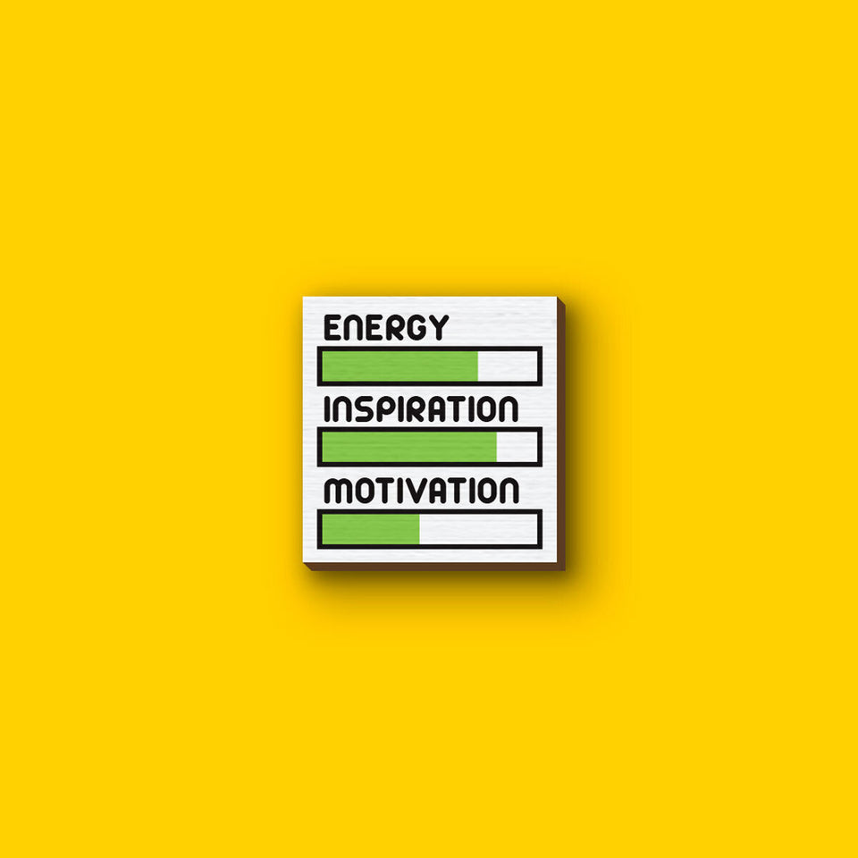 Energy, Inspiration and Motivation levels