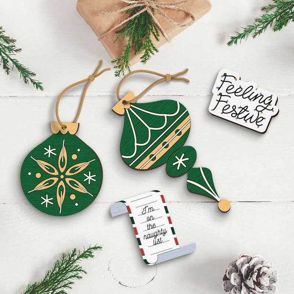 Festive Christmas Pack Say it with a Pin