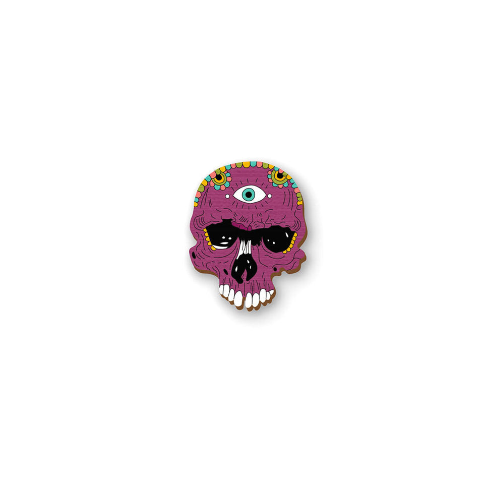Purple Sugar Skull