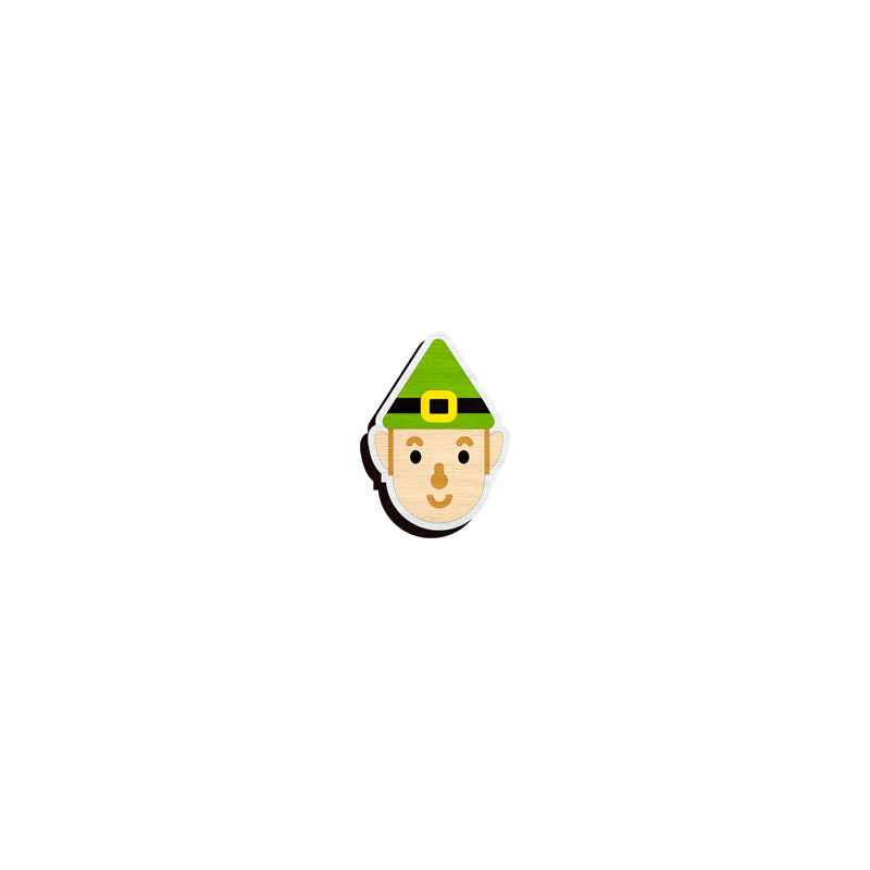 Elf lapel pin