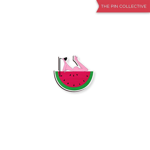 Cool Nude 01 - hand painted pin