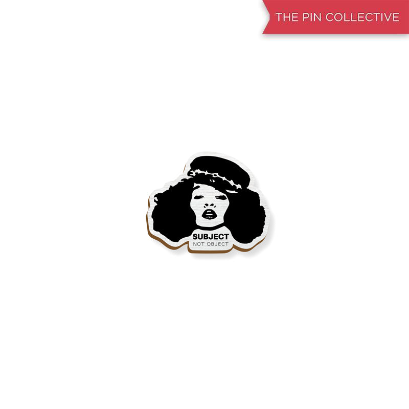 Queen - hand painted pin