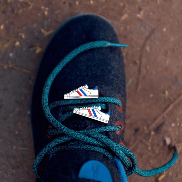 Sneaker - hand painted pin