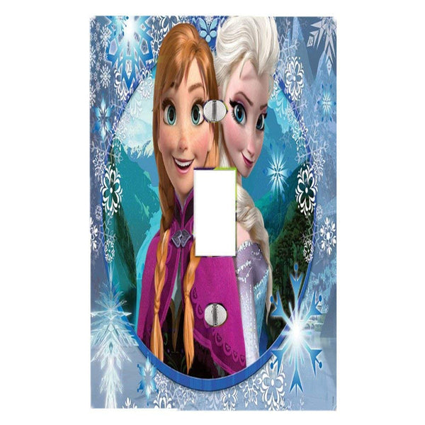 Disney Frozen Sisters Light Switch Covers Buy 3 Or More And Receive