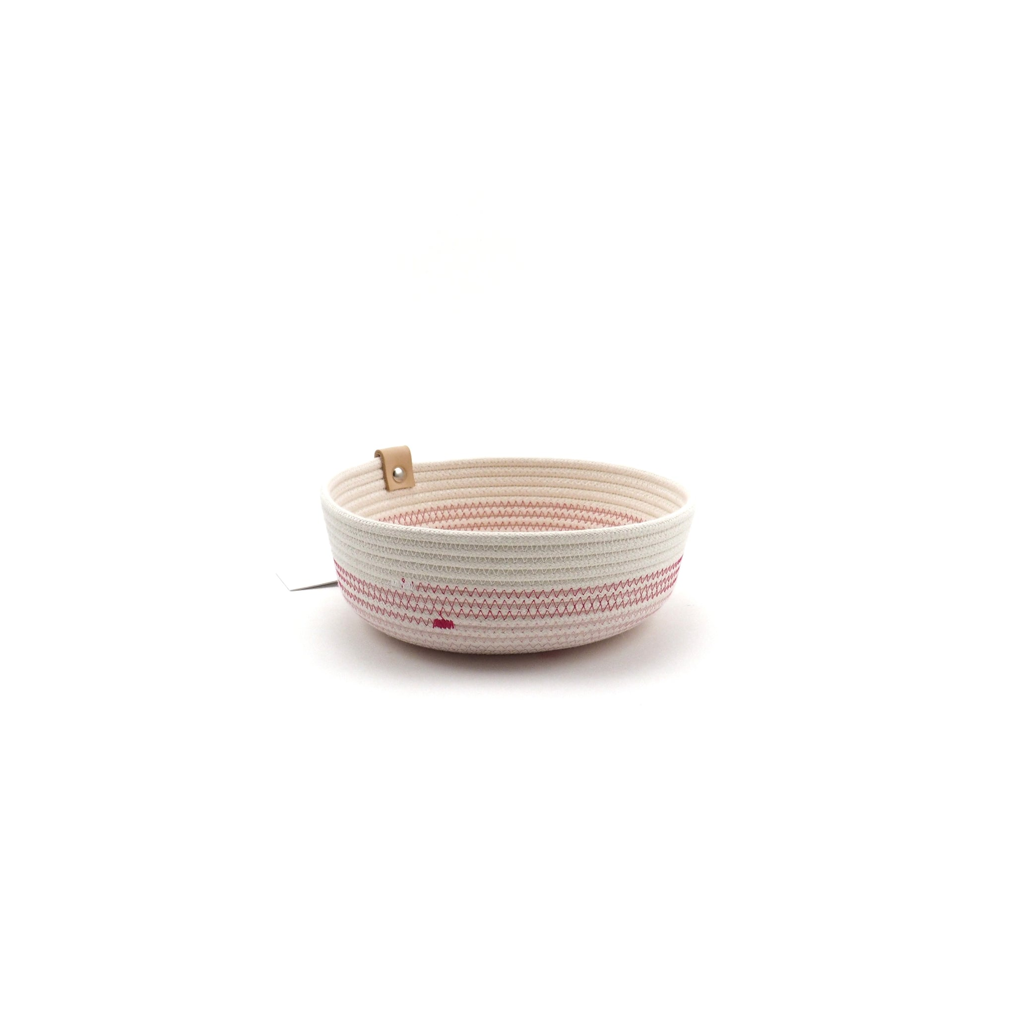 Bowl low rose fuchia S