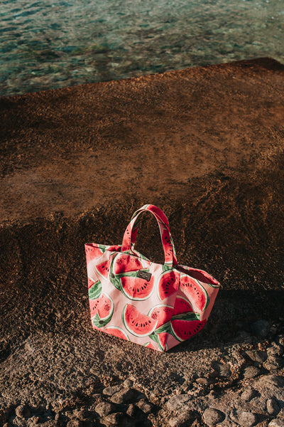 Watermelon XL tote bag