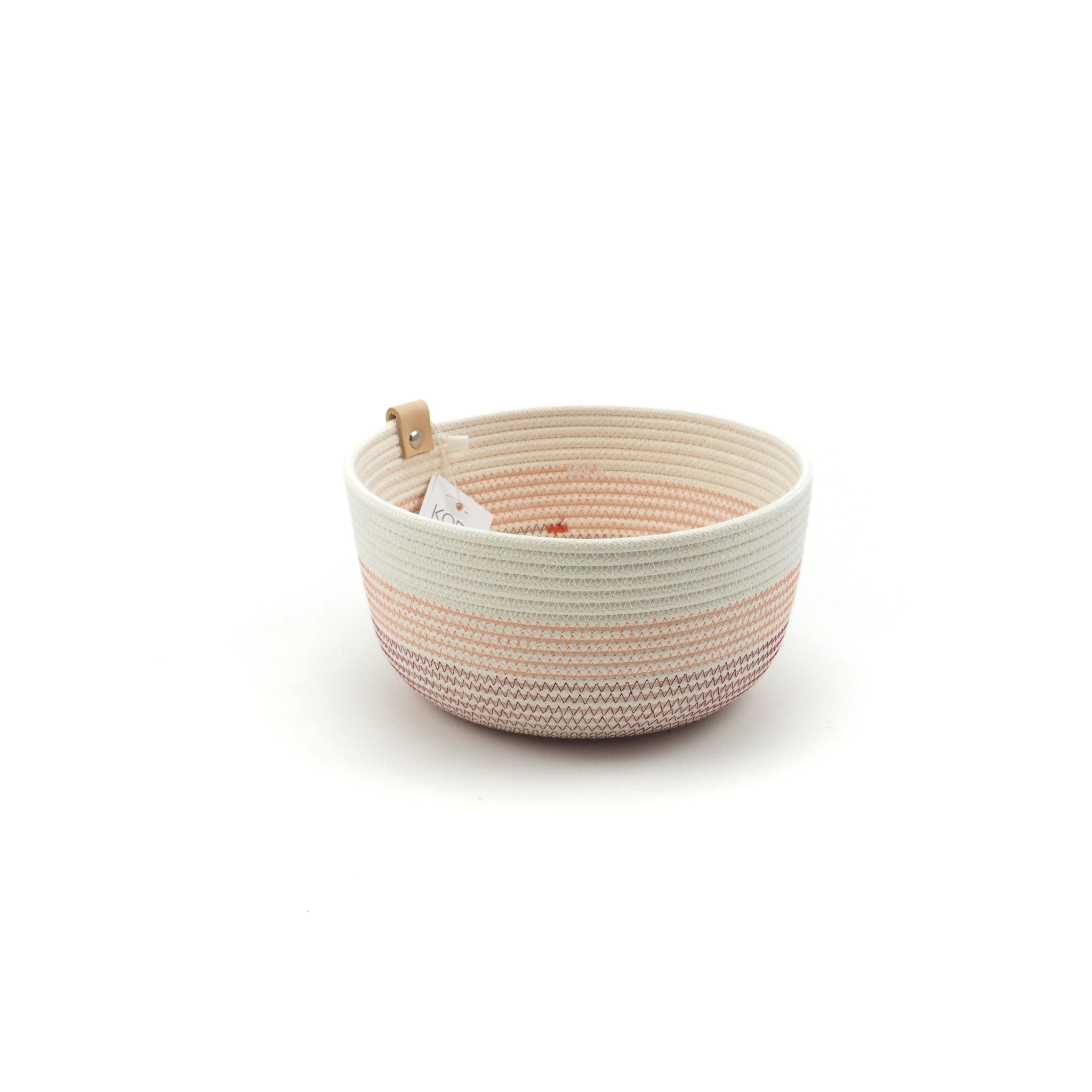 Bowl high bordeaux salmon M