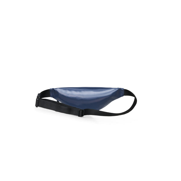Bum bag mini shiny blue