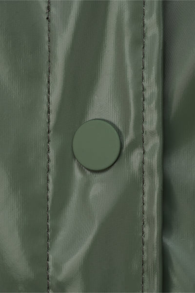 Belt Jacket shiny olive