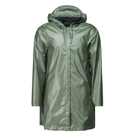 A-Line Jacket shiny olive