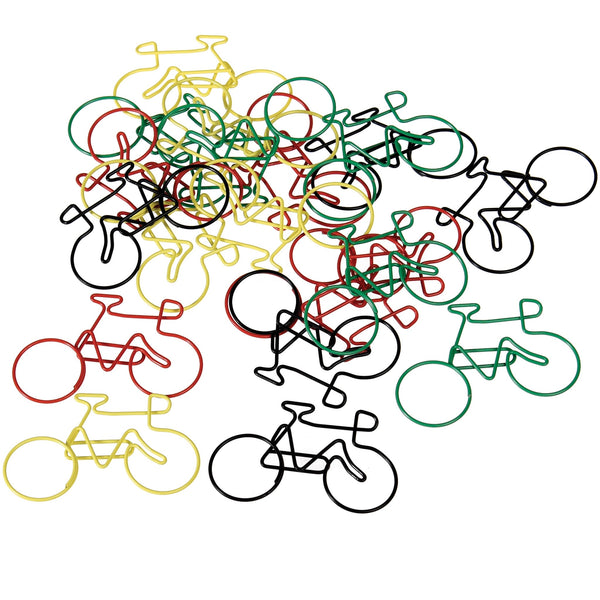 Paperclips fiets