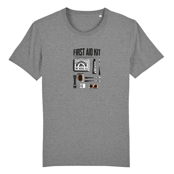 T-shirt First aid kit grey