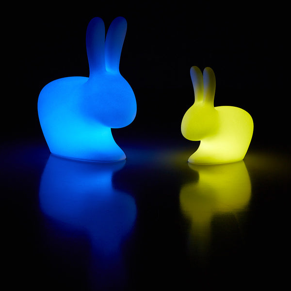 Rabbit chair baby lamp