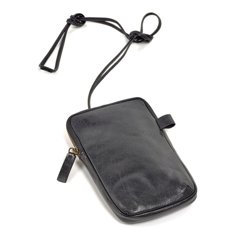 Phone pocket black Bea Mombaers