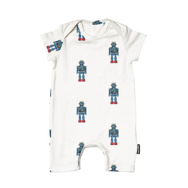 Robot playsuit baby
