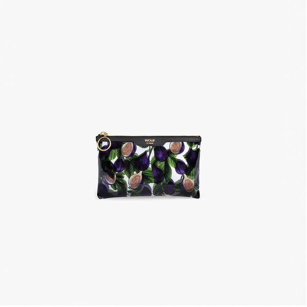 Black Figue pocket clutch