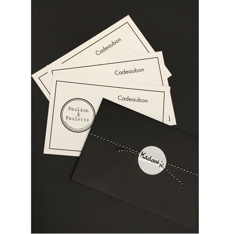 Gift Card € 25 - € 250