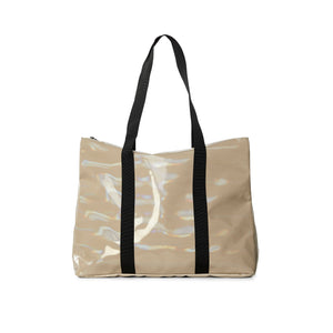 City Tote Holographic Beige
