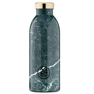 Clima bottle green marble 500ml