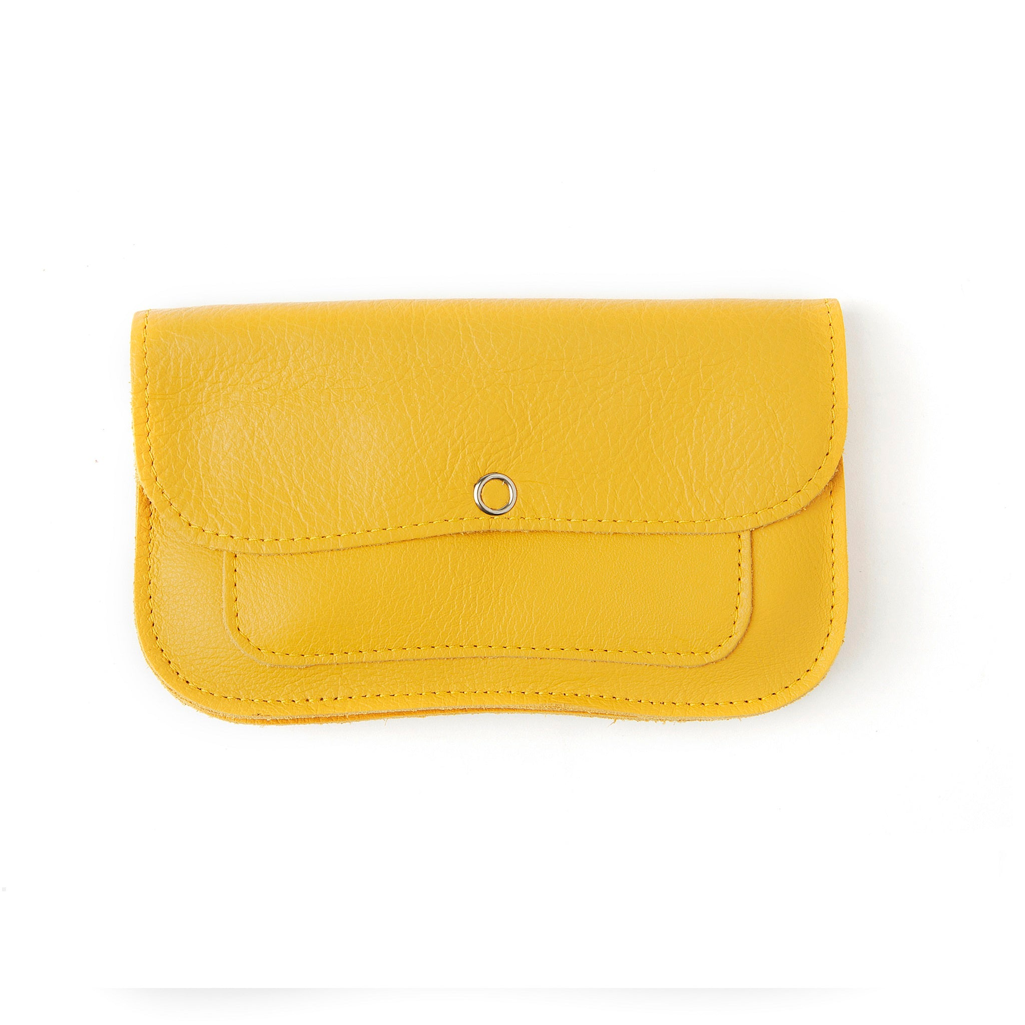 Cat Chase Wallet medium yellow