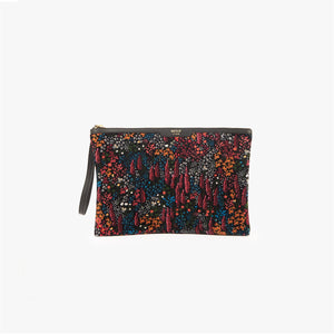 Leila velvet night clutch