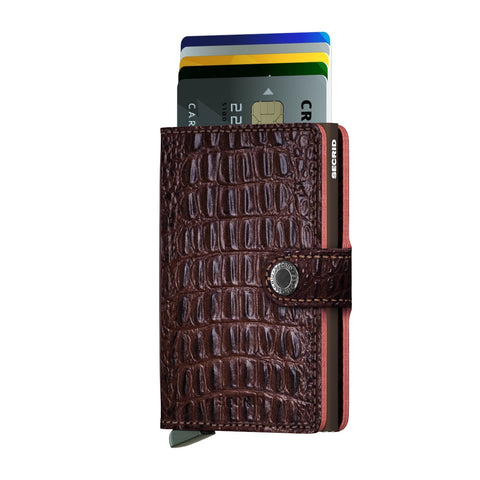 Miniwallet nile brown