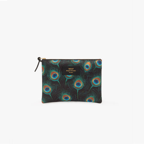 Peacock large pouch