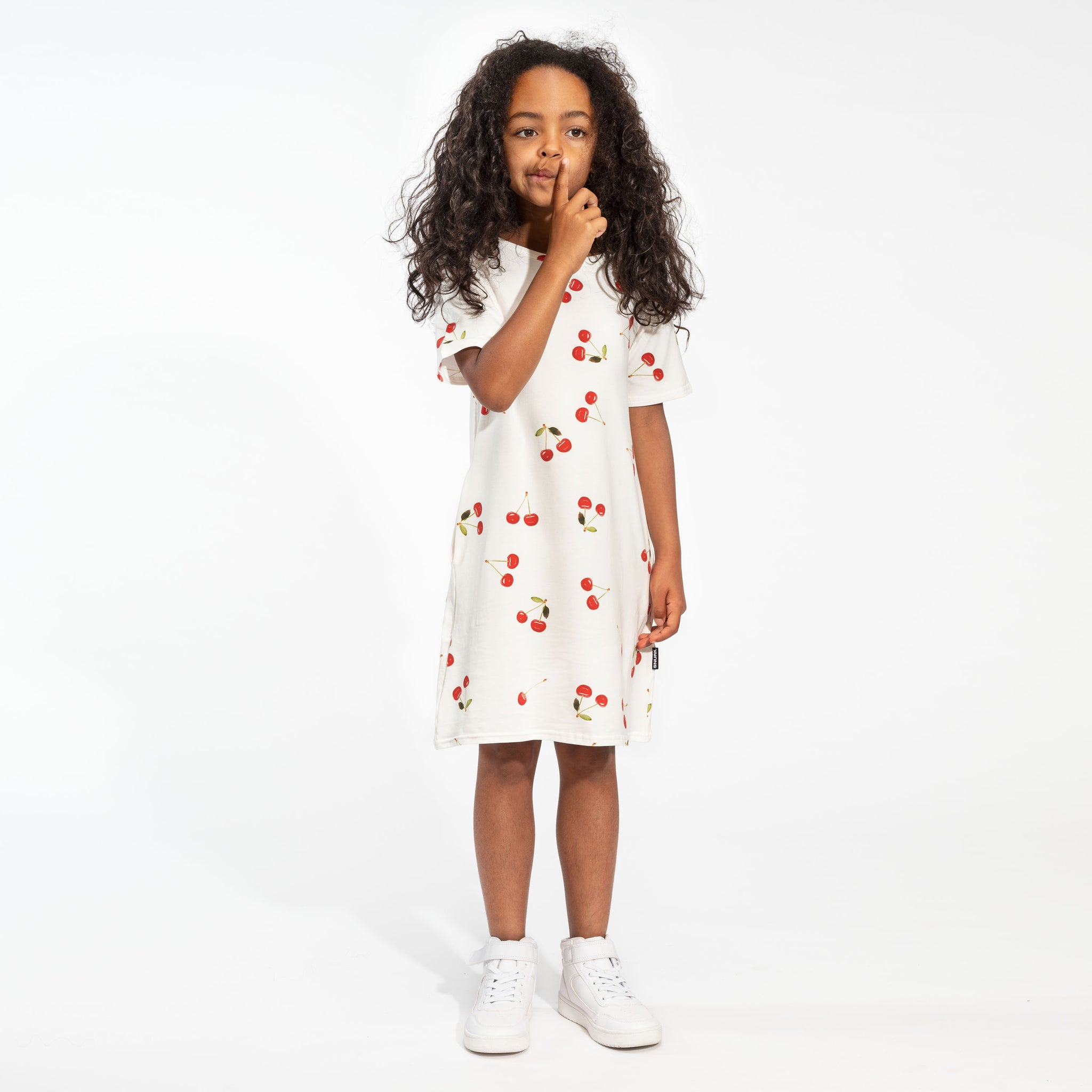 Cherries T-shirt dress