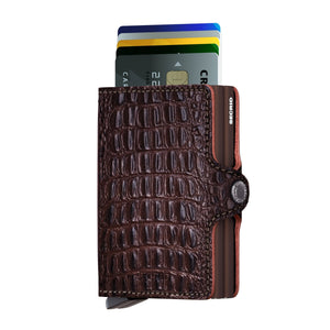 Twinwallet nile brown