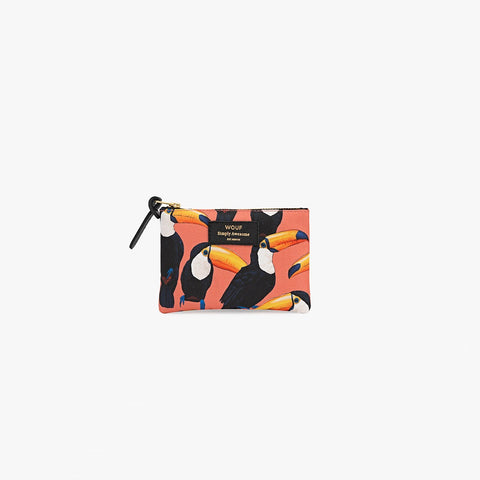 Toco Toucan small pouch