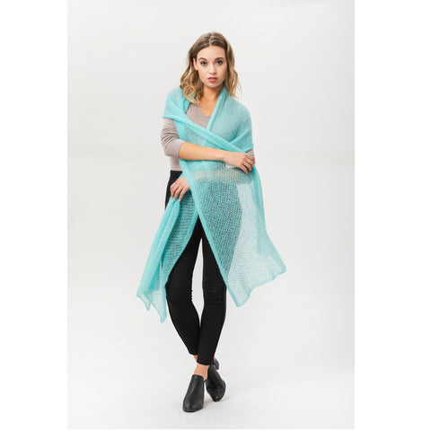 Sjaal Atmosphere Turquoise