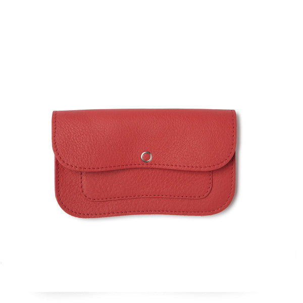 Cat Chase Wallet medium coral