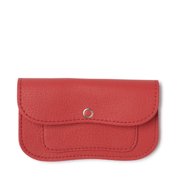 Cat Chase Wallet small coral