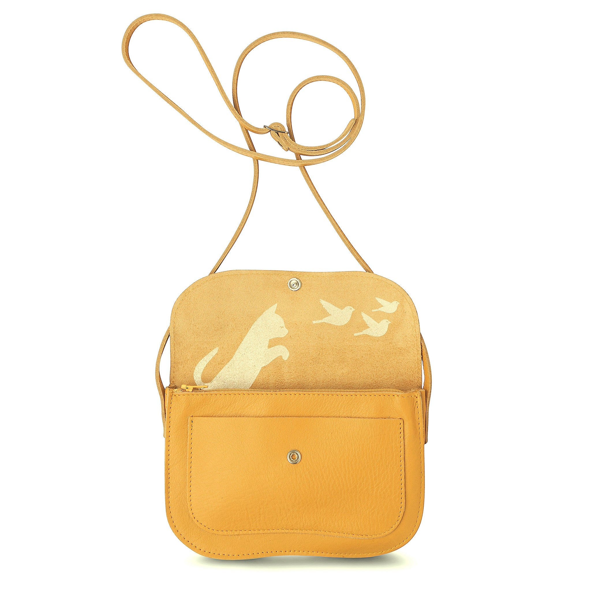 Cat Chase bag yellow