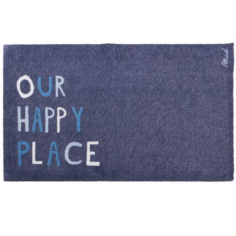 Mat our happy place 110 x 67 cm