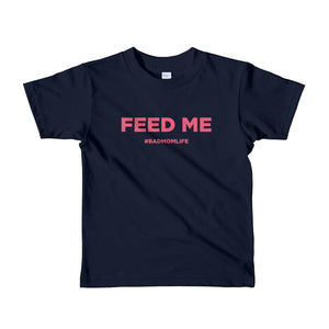 Feed Me - Short sleeve kids t-shirt