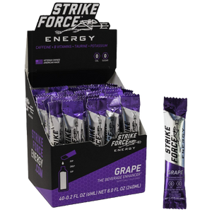 Strike Force, 40 Count Box - Grape Flavor