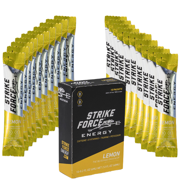 Strike Force, 10 Count Box - Lemon Flavor